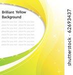 Brilliant Yellow Background...