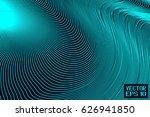 abstract dark turquoise...   Shutterstock .eps vector #626941850