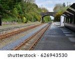 The Railway Track In Ireland On ...