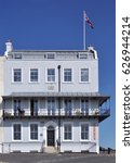 Small photo of RAMSGATE, UK - APRIL 2, 2017. Albion House is a fine early 19th century, English Regency period, hotel at Ramsgate in the county of Kent, UK.