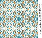 vector seamless texture.... | Shutterstock .eps vector #626945570