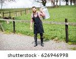 full body portrait of a... | Shutterstock . vector #626946998