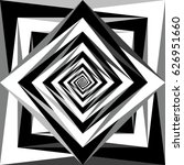 vector black and white abstract ... | Shutterstock .eps vector #626951660
