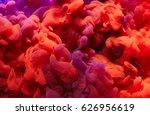 ink in water. abstract... | Shutterstock . vector #626956619