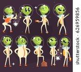 Cute Aliens In Space Suits ...