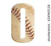baseball seams themed bold... | Shutterstock . vector #626965118