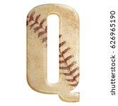 baseball seams themed bold... | Shutterstock . vector #626965190