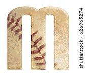 baseball seams themed bold... | Shutterstock . vector #626965274