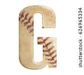baseball seams themed bold... | Shutterstock . vector #626965334