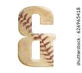 baseball seams themed bold... | Shutterstock . vector #626965418