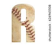 baseball seams themed bold... | Shutterstock . vector #626965508