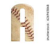 baseball seams themed bold... | Shutterstock . vector #626965868