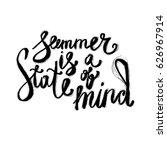 hand lettering inspirational... | Shutterstock .eps vector #626967914