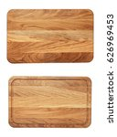 new rectangular wooden cutting... | Shutterstock . vector #626969453