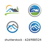 real estate   property and... | Shutterstock .eps vector #626988524