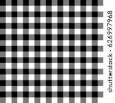 Gingham Seamless Plaid Pattern.