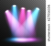 scene illumination. stage.... | Shutterstock .eps vector #627016106