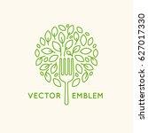 vector logo design template  ... | Shutterstock .eps vector #627017330
