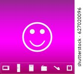 smile icon vector. flat simple...