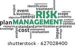 a word cloud of risk management ...   Shutterstock .eps vector #627028400