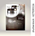 flyer  brochure or magazine... | Shutterstock .eps vector #627030116