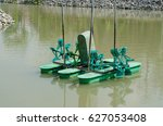 Small photo of aquatic machine aeration for water treatment