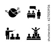 business audience. simple... | Shutterstock .eps vector #627053936