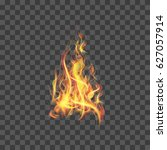 realistic fire flames for web ...