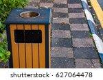 closeup of rubbish box | Shutterstock . vector #627064478