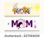 website header or banner design ... | Shutterstock .eps vector #627064634