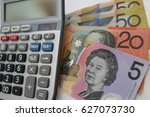 budgeting for future ... | Shutterstock . vector #627073730