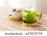 diet  healthy eating  food and... | Shutterstock . vector #627075779