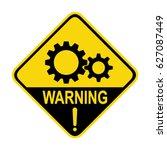 gear sign. symbol  illustration  | Shutterstock .eps vector #627087449