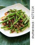 Asian Style Stir Fried String...