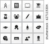 set of 16 editable graduation...