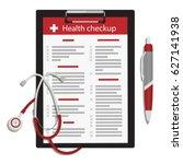vector illustration health...   Shutterstock .eps vector #627141938
