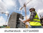 engineering consulting people... | Shutterstock . vector #627164000