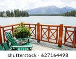 fairmont jasper park lodge in...   Shutterstock . vector #627164498