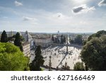 A View Of Piazza Del Popolo In...
