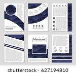 abstract vector layout... | Shutterstock .eps vector #627194810