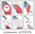 abstract vector layout... | Shutterstock .eps vector #627197978
