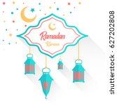 ramadan kareem | Shutterstock .eps vector #627202808