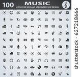 music web icons for user...   Shutterstock .eps vector #627218666