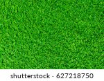 green lawn for background.... | Shutterstock . vector #627218750