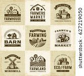 Vintage Organic Farming Labels...