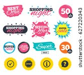 sale shopping banners. special...   Shutterstock .eps vector #627220343