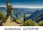 eight 8 stairs to heaven in... | Shutterstock . vector #627229769