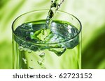 closeup photo of pouring pure... | Shutterstock . vector #62723152