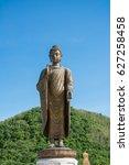 statues of buddha at wat...   Shutterstock . vector #627258458