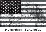 grunge usa flag.vector american ...   Shutterstock .eps vector #627258626